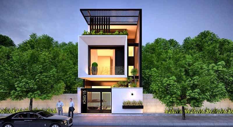 Thiết kế nhà mặt phố