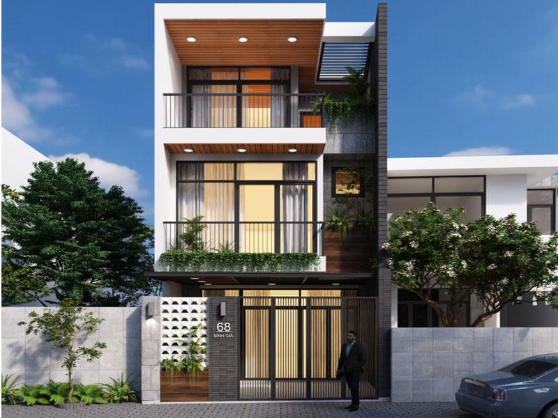 thiết kế nhà phố sang trọng Đà Nẵng