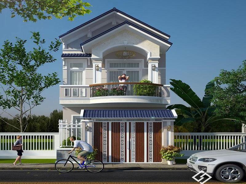 Nhà tầng hiện đại