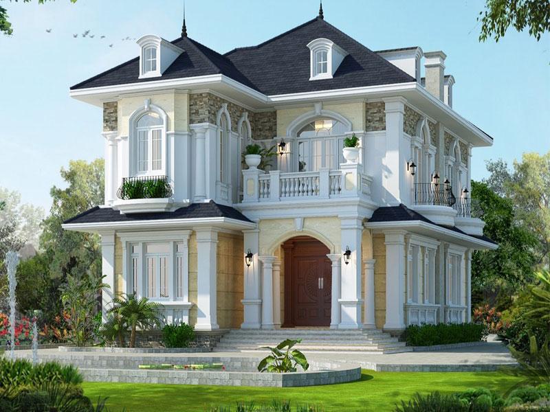 Nhà tầng tân cổ điển