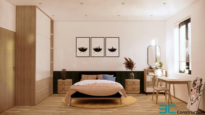 Thiết kế phòng ngủ trẻ trung