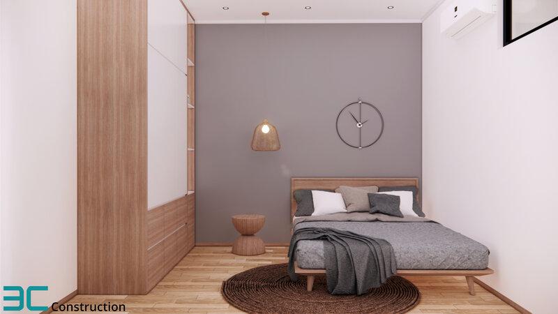 Thiết kế phòng ngủ tầng 1