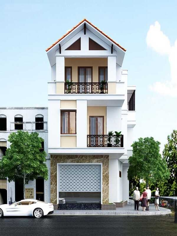 Thi công nhà mặt phố Đà Nẵng