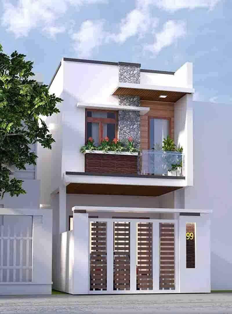 Thiết kế nhà mặt phố Đà Nẵng giá rẻ