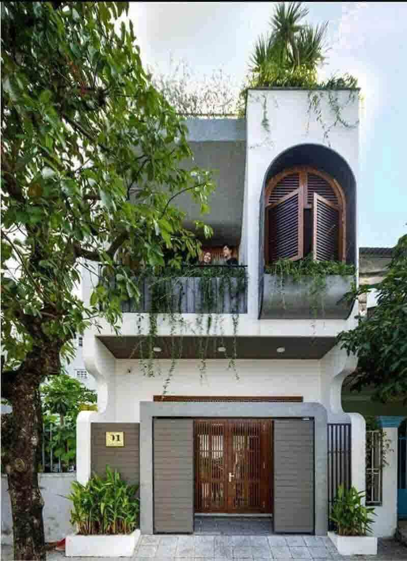Mẫu thiết kế nhà mặt phố Đà Nẵng