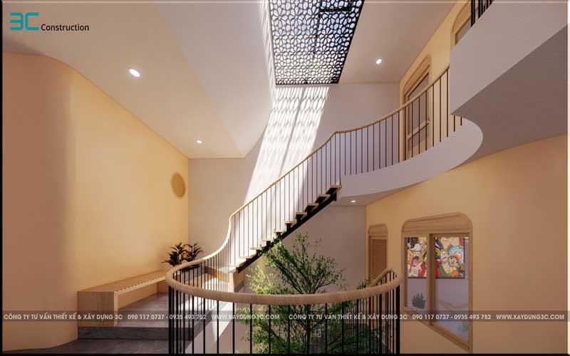 Mẫu thiết kế nhà phố diện tích 5x20m 11