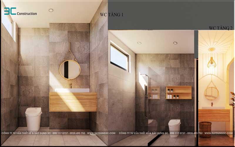 Mẫu thiết kế nhà phố diện tích 5x20m 211
