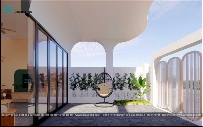 Mẫu thiết kế nhà phố diện tích 5x20m 24