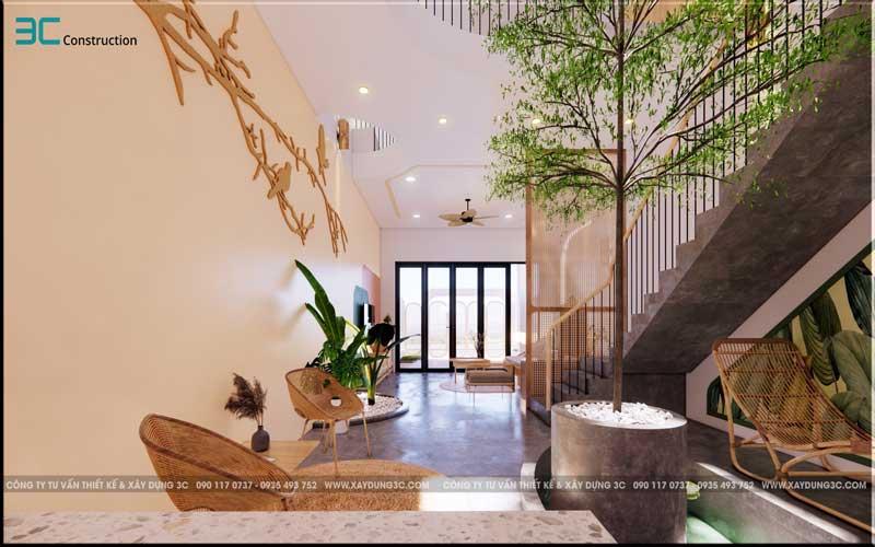 Mẫu thiết kế nhà phố diện tích 5x20m 3