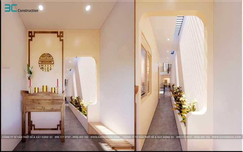 Mẫu thiết kế nhà phố diện tích 5x20m 38