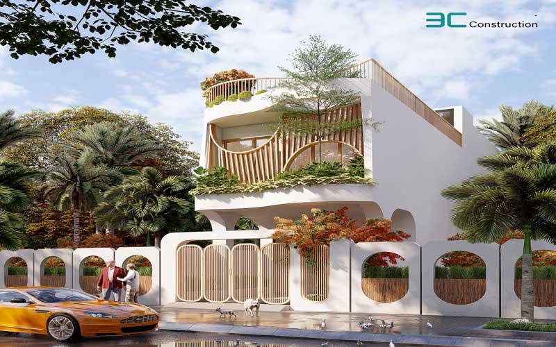 Mẫu thiết kế nhà phố diện tích 5x20m 39