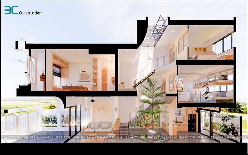 Mẫu thiết kế nhà phố diện tích 5x20m 41