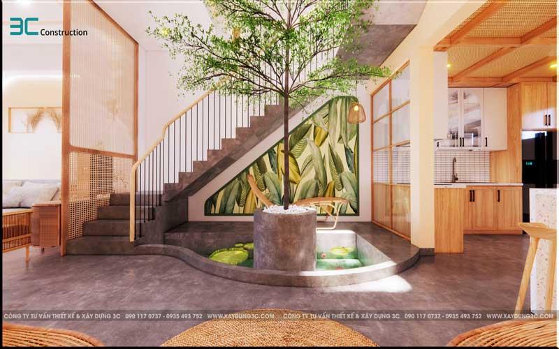Mẫu thiết kế nhà phố diện tích 5x20m 6