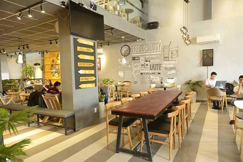 báo giá thi công quán cà phê Quảng Nam 1