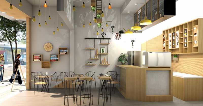báo giá thi công quán cà phê Quảng Nam 4