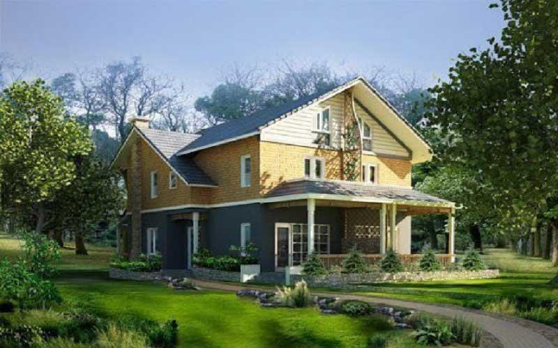 Báo giá thiết kế nhà vườn trọn gói