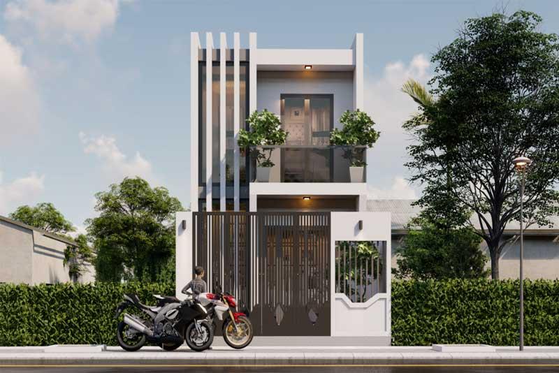 Thiết kế xây dựng nhà mặt phố Đà Nẵng
