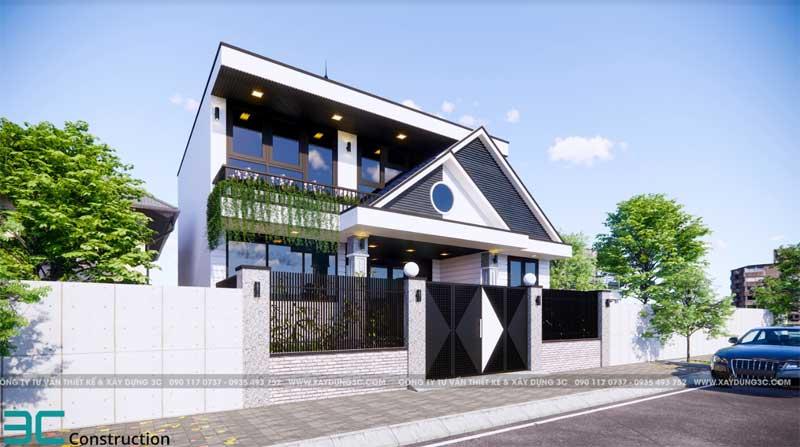 Mẫu thiết kế nhà có gác lửng