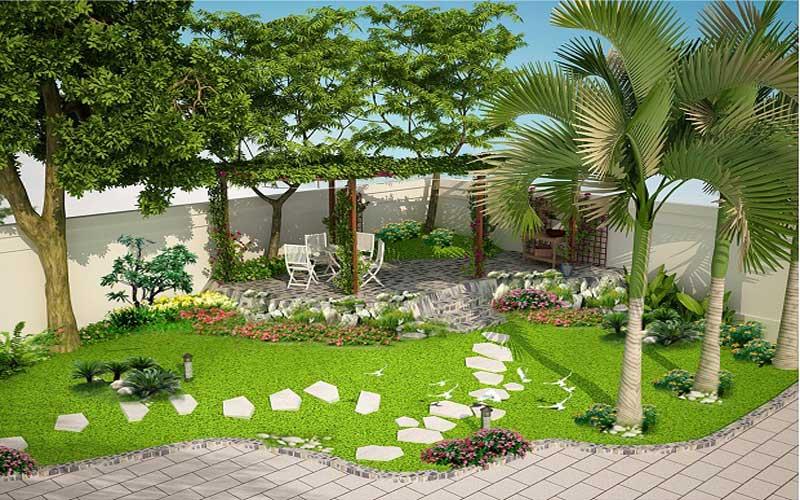 cải tạo nhà vườn trọn gói