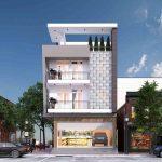Báo giá thiết kế nhà mặt phố