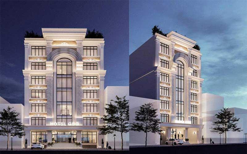 Thiết kế khách sạn tân cổ điển