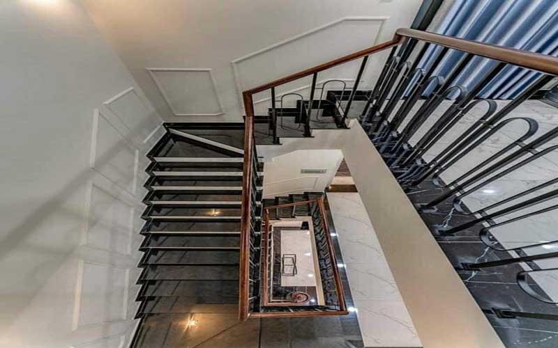 Nhà 2 tầng 1 tum phong cách tân cổ điển 8
