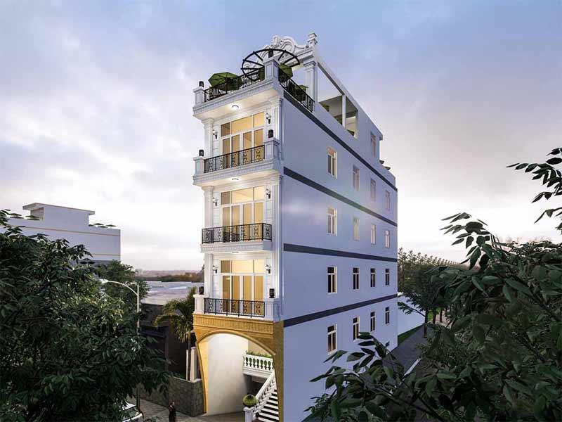 Thiết kế khách sạn giá rẻ