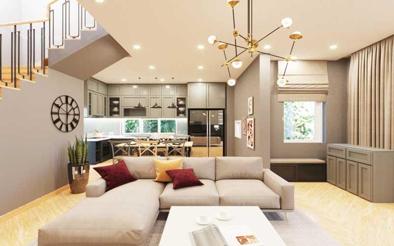 Thiết kế nội thất trọn gói uy tín