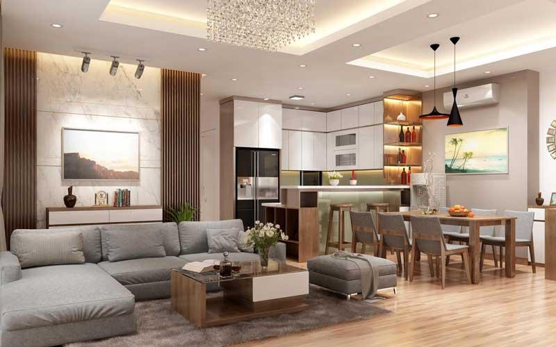 quy trình thiết kế nội thất trọn gói
