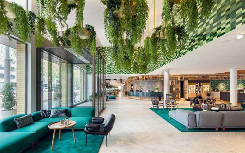 Phong cách thiết kế nội thất xanh