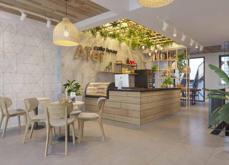 Những sai lầm cần tránh khi thiết kế quán cà phê