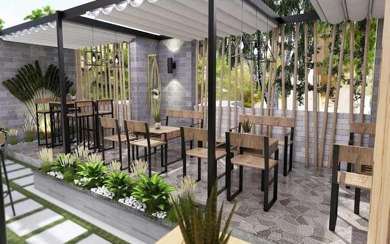 Cải tạo quán cà phê Quảng Nam