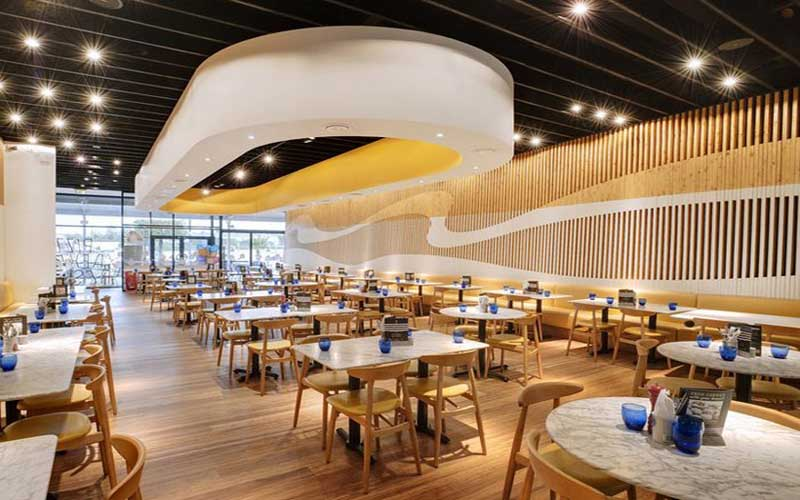Đặc điểm thiết kế quán cà phê