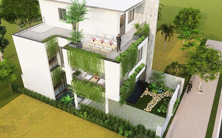 nhà vườn đẹp 13