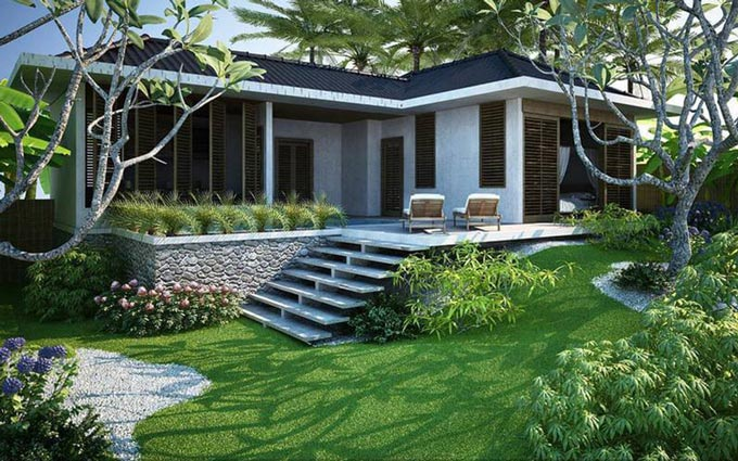 nhà vườn đẹp 14
