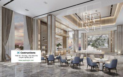 thiết kế phòng tư vấn khách hàng