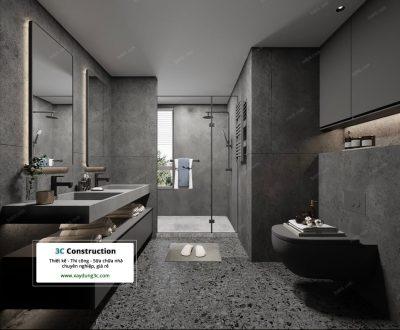 thiết kế nhà vệ sinh độc lạ