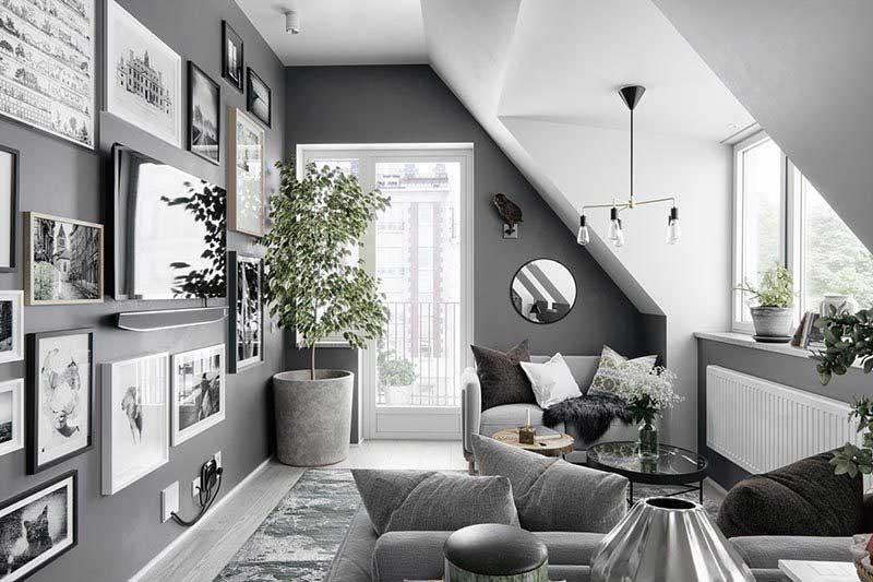 xu hướng trang trí cây xanh trong phòng