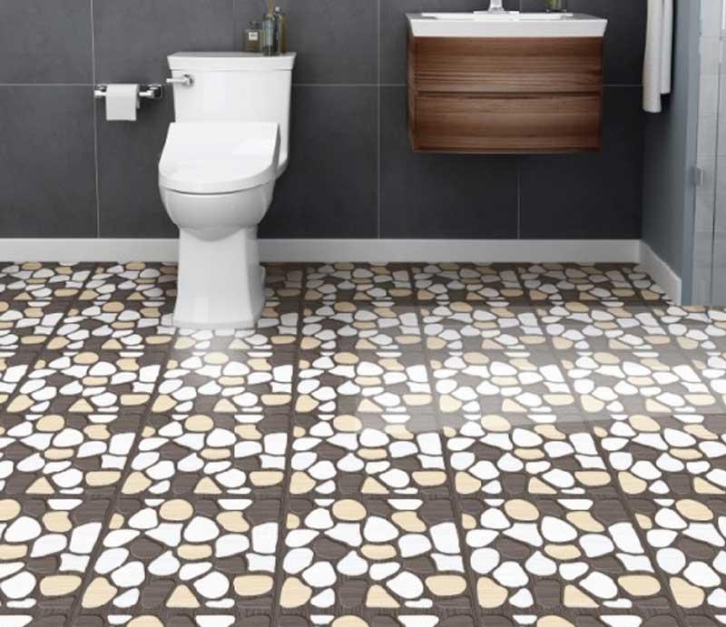Gạch lát sàn nhà vệ sinh