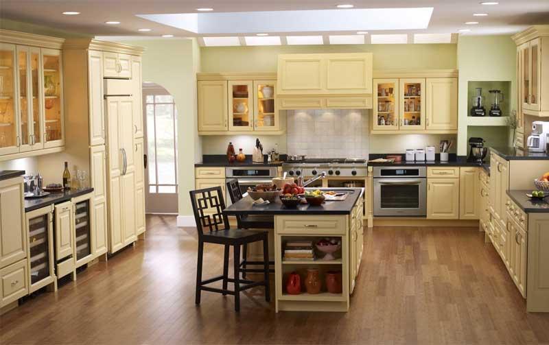 Gạch lát sàn cho phòng bếp