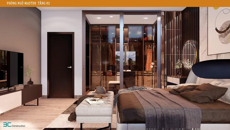 Thiết kế phòng ngủ master 2
