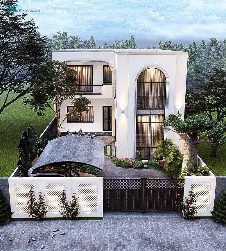 Nhà 2 tầng thiết kế hiện đại
